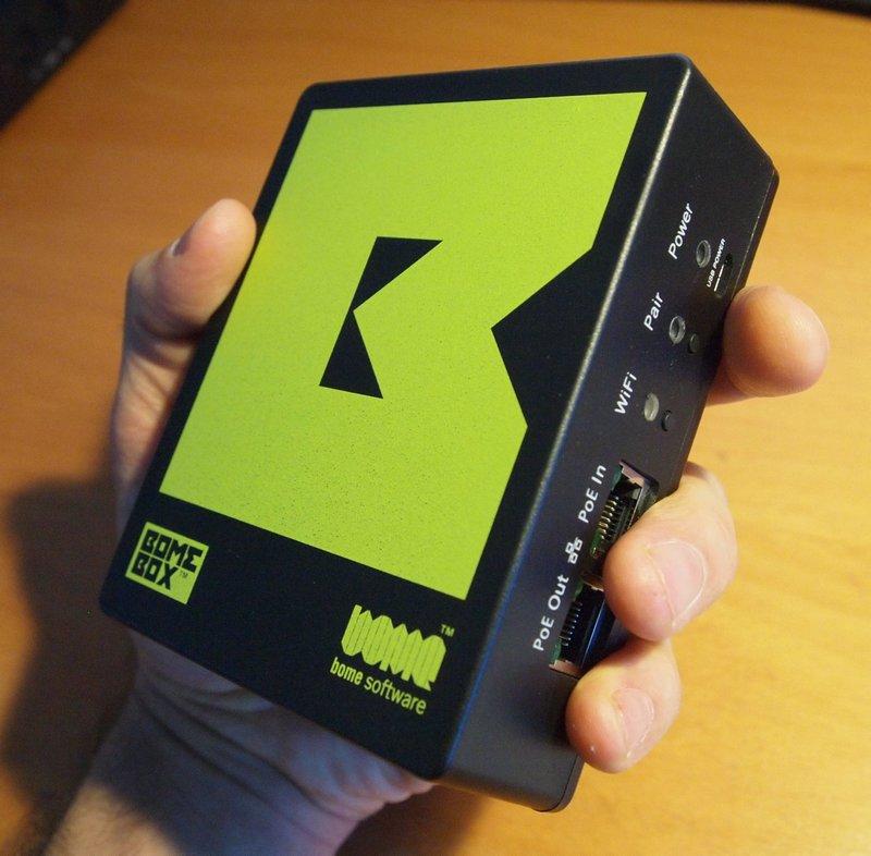 A handful of a BomeBox