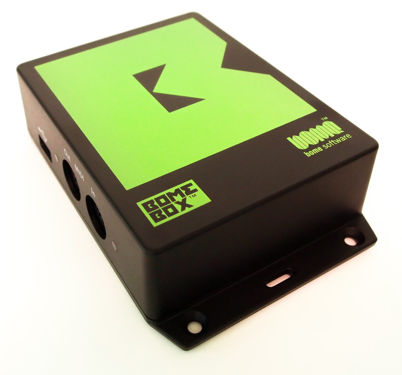 BomeBox with Mounting Flange