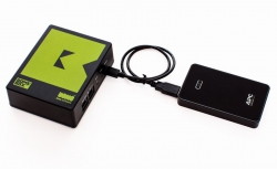 BomeBox powered by battery