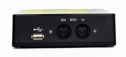 BomeBox USB host and MIDI connectors