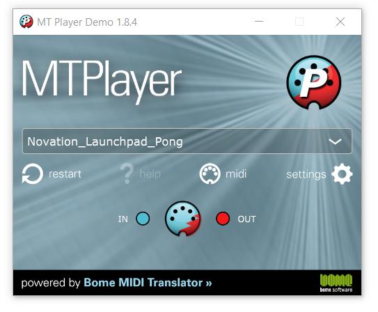 MT Player GUI