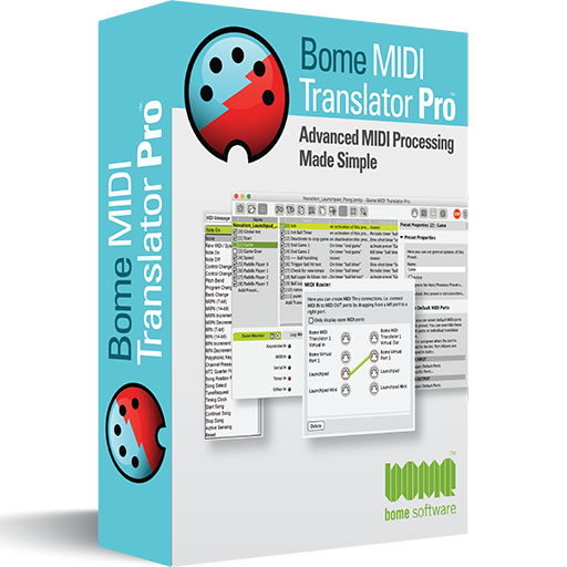 Bome MIDI Translator Pro Display Box