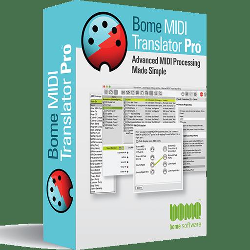 Bome MIDI Translator Pro Display Box