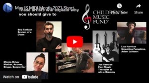 May is MIDI Month 2021 - Children's Music Fund